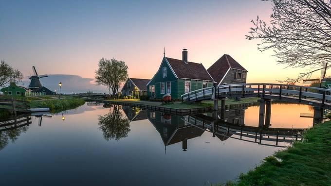Zaanse Schans House by wayneobald - Photogenic Villages Photo Contest