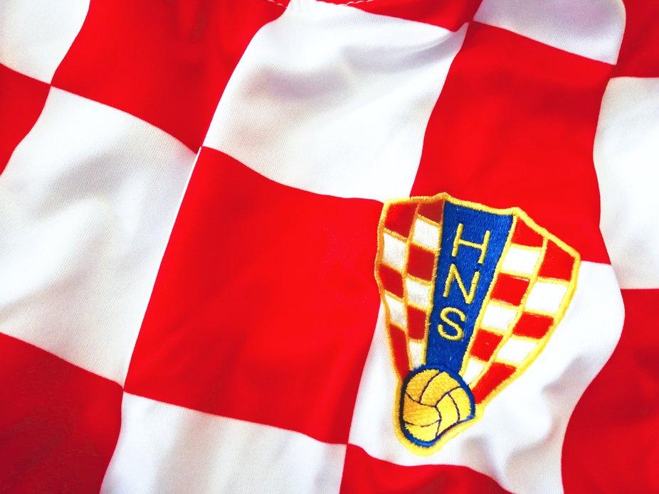 Croatian soccer jersey