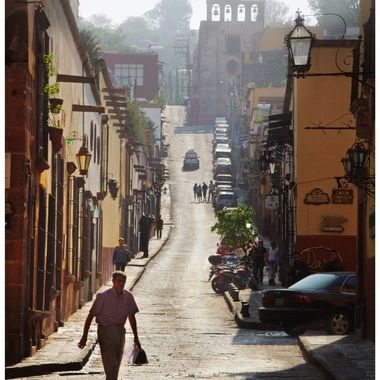 Early morning in San Miguel De Allende