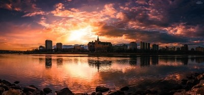 Bridge City Sunset