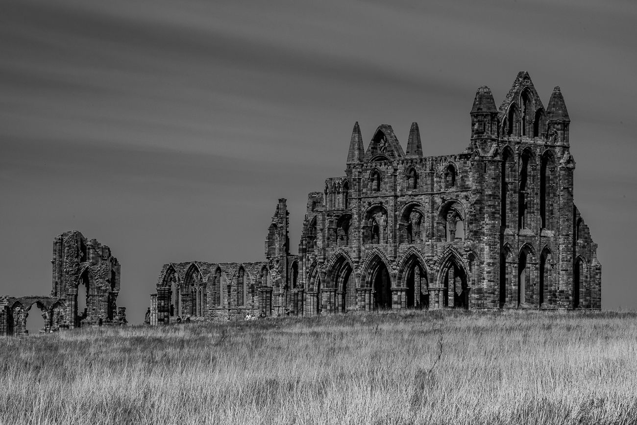 Whitby Abbey (B & W)