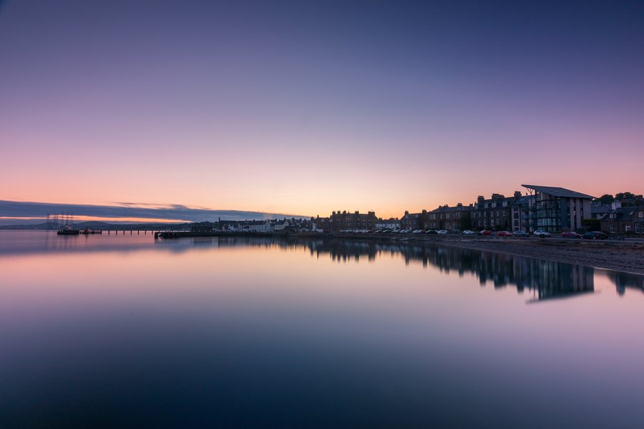 The fishing village of Broughty Ferry, on Scotlands East Coast. This is my home where I have live...