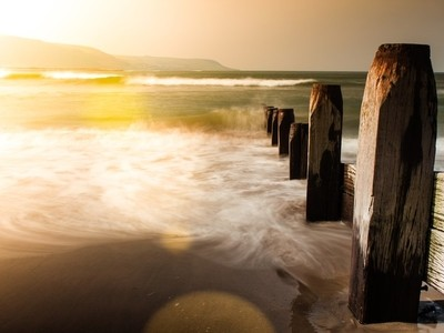 Barmouth beach wales