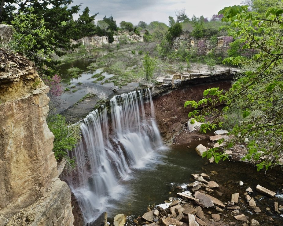 The Falls at Cowley County Lake