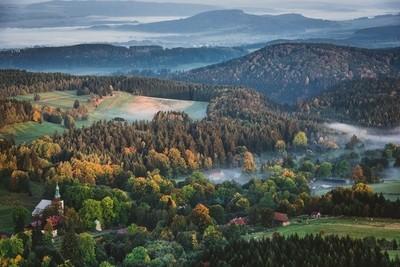 Autumnal morning.