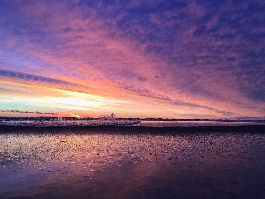 Latvian sunset