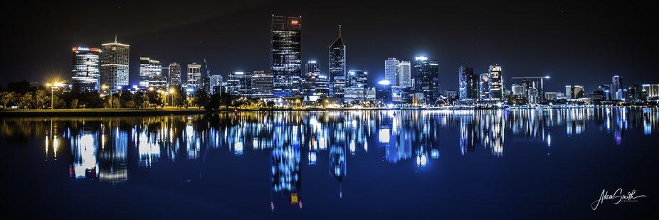 Early morning Still of Western Australia's Capital City