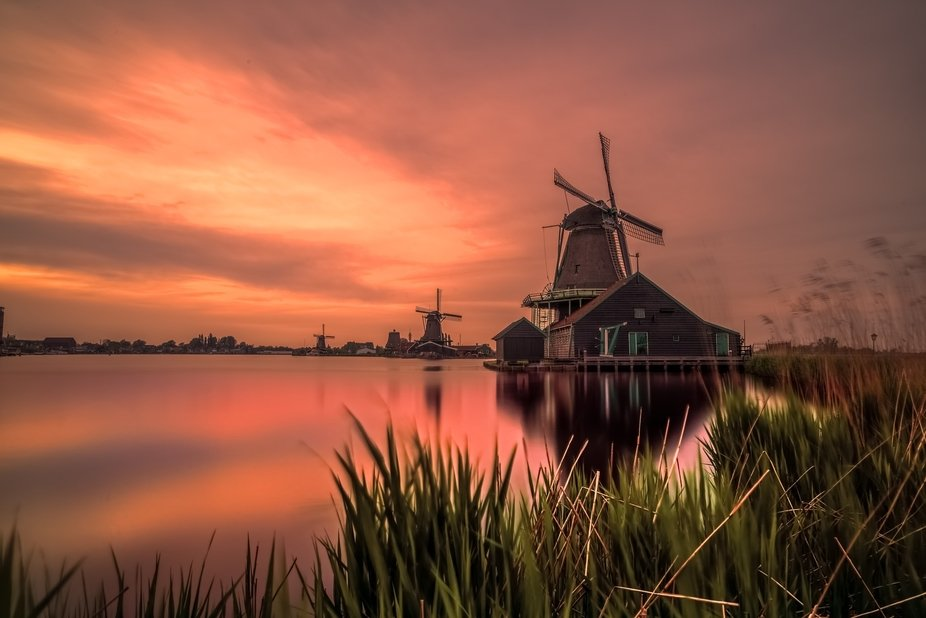 Amazing evening in Holland