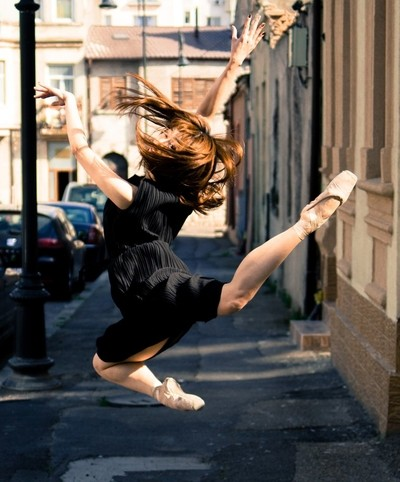 Ballet in the streets