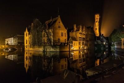 Night in Bruges