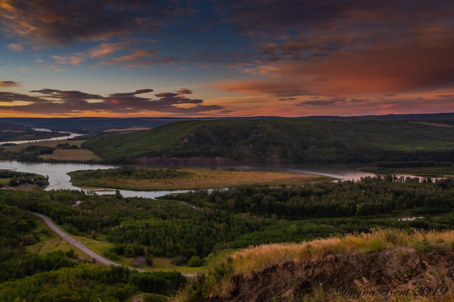 Peace River Valley Old Fort2