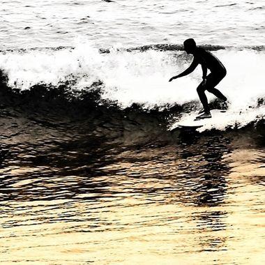 Malibu surfer!