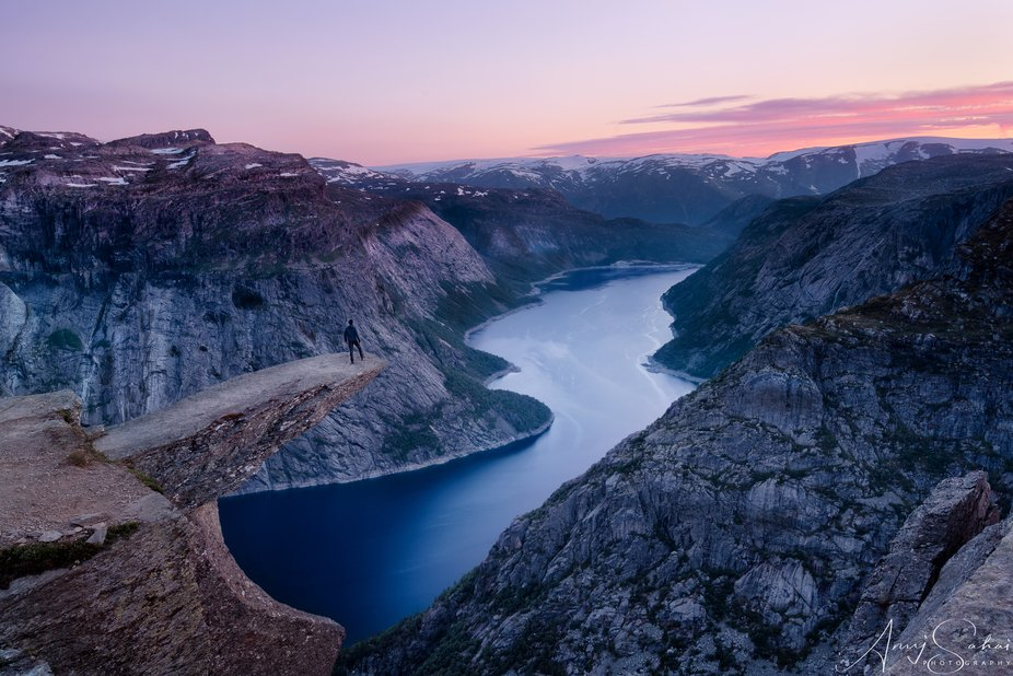 Trolltunga, means Troll's Tongue, is the most iconic places in Norway. A 14 kilometer hi...