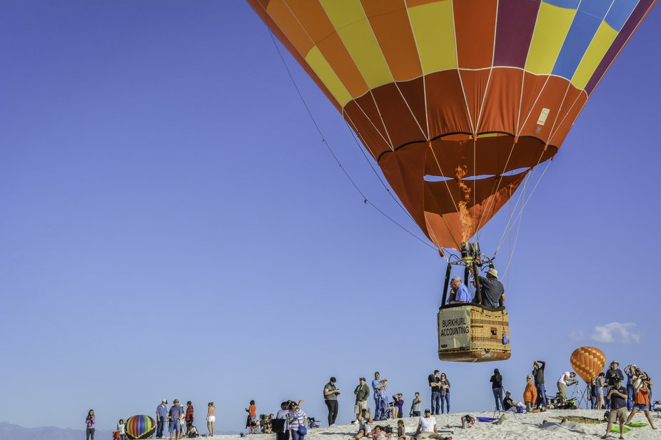 White Sands Balloon Invitational 2018