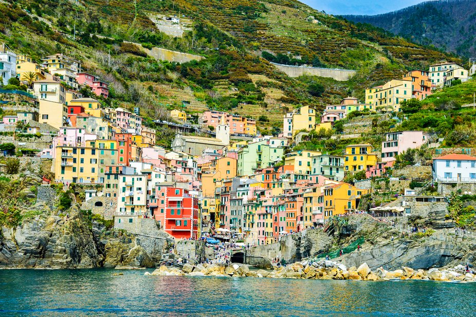 Riomaggiore by day. taken last April 21, 2019. My dream to see the famous 5terre, Italy. I was so...