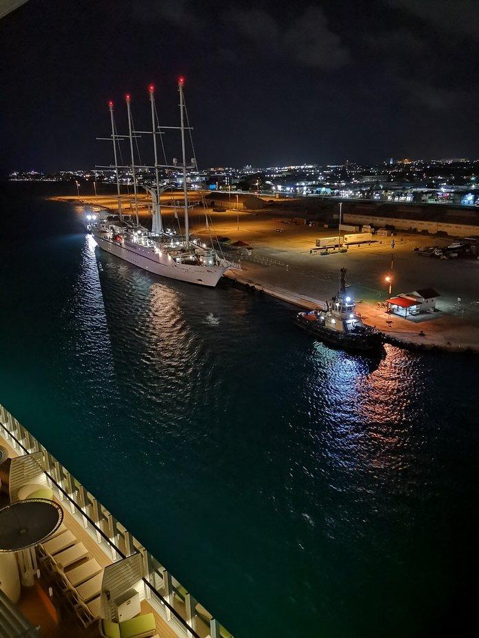 Hafeneinfahrt I Aruba