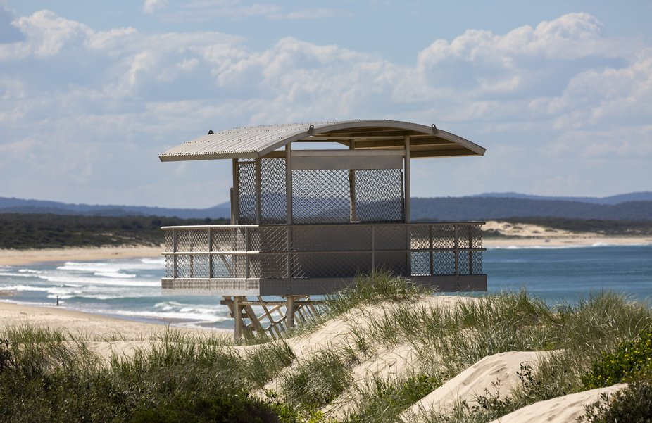 Taken at along the beautiful coastline of NSW Australia in the Port Stephens area were you can en...
