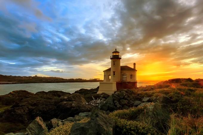 Coquille River LIghthouse by blaydenthompson - Image Of The Month Photo Contest Vol 44