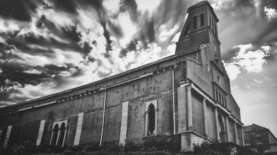 Deserted monastery