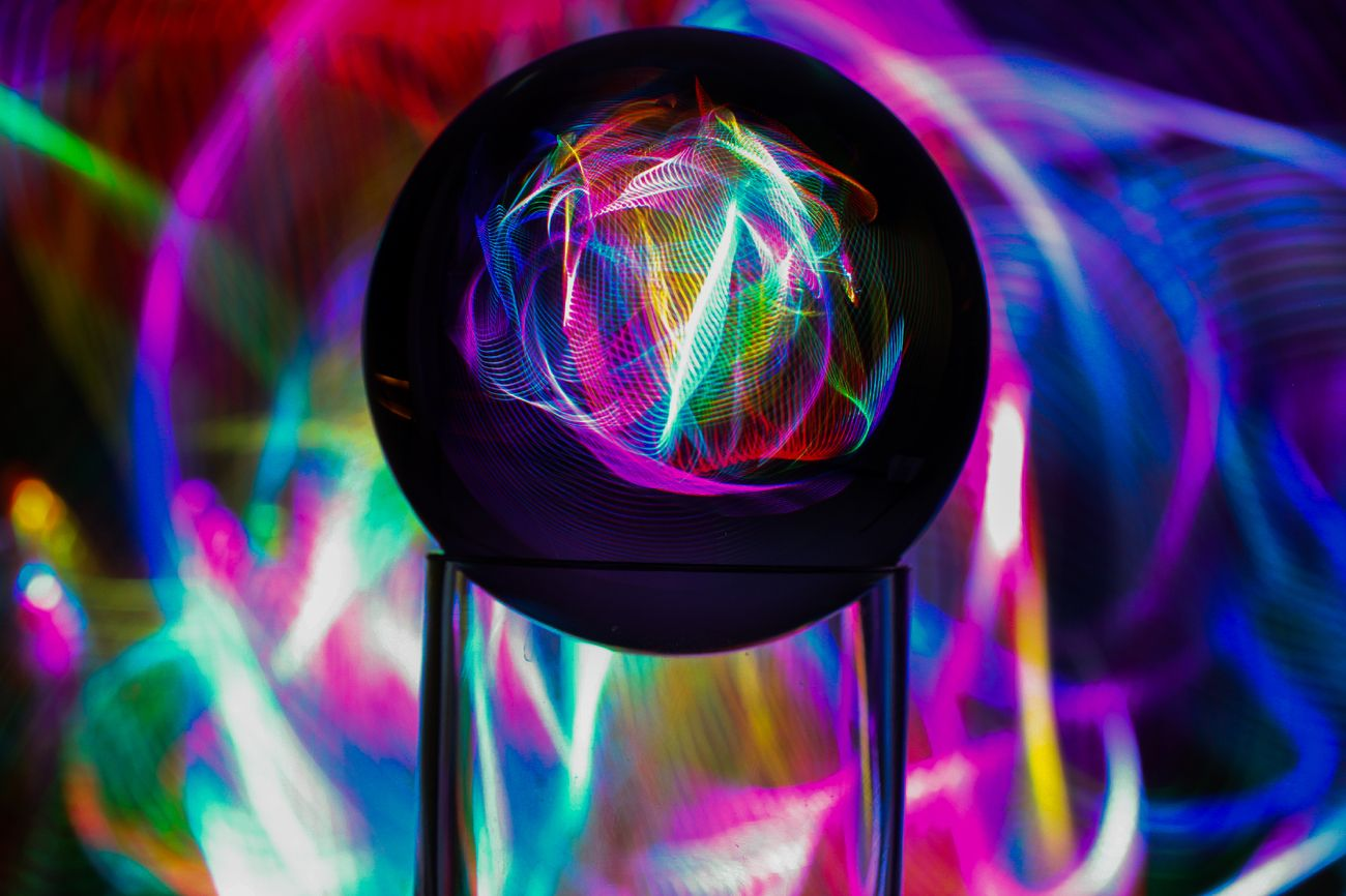 always enjoy playing with lights and color.