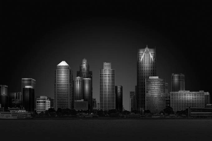 Cityscape by Fatehi - Cities In Monochrome Photo Contest