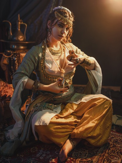 Orientalism - The Ghawazee dancer✨Model: @paloma_houzeMUA:@melissa_muabePhoto & costume : @studioderville