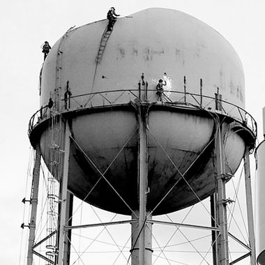 Down Comes the Water Tower