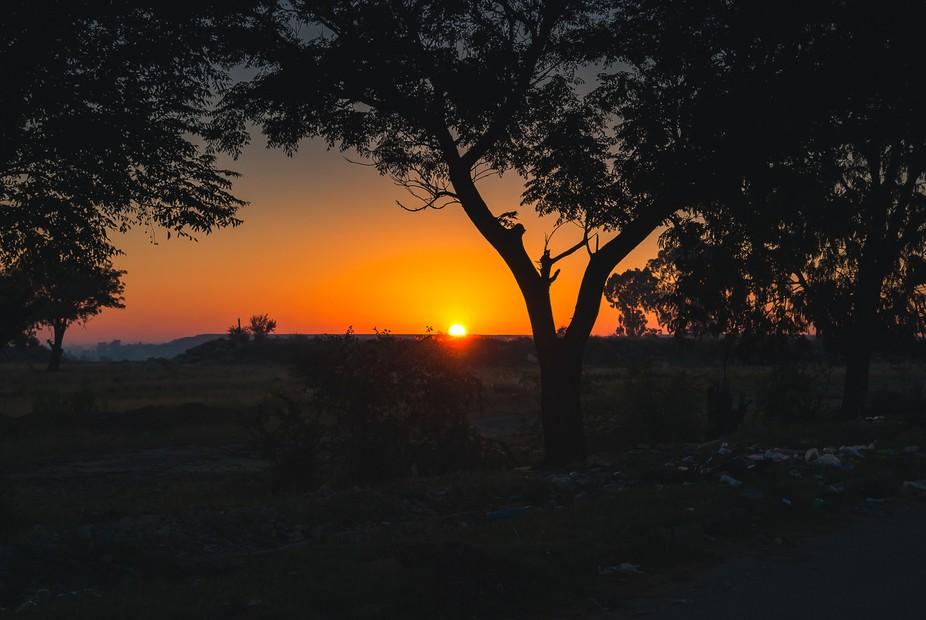 Rubble and Sunrise