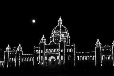 British Columbia Parliament Building - Victoria, Canada (BW) - Photocrowd