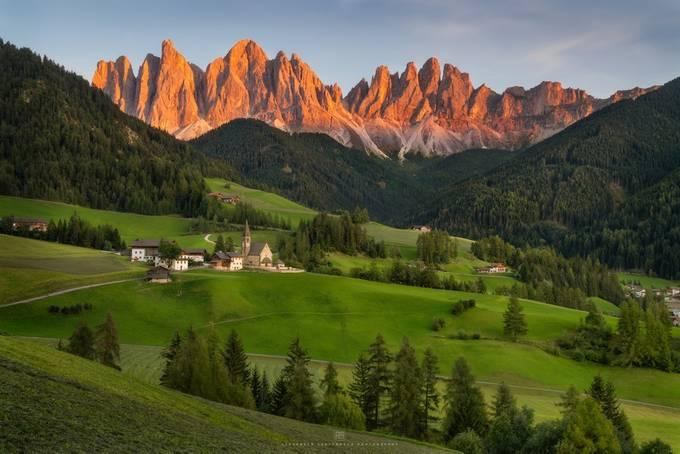 Val di Funes by alex_lauterbach - Photogenic Villages Photo Contest
