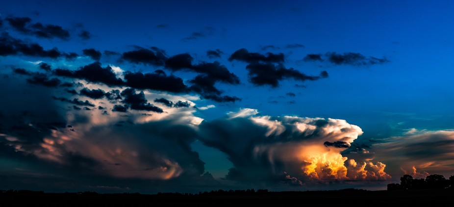 Magnificent Birth of a Thunderstorm