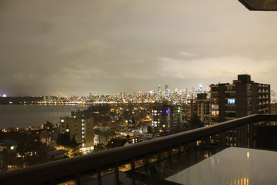 Vancouver city lights