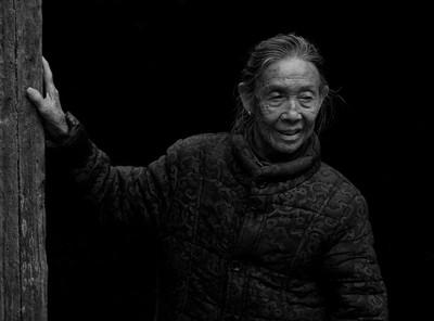96 year old lady in Yangshuo