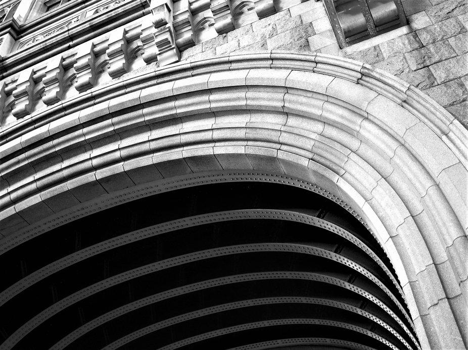 Archway on Tower Bridge