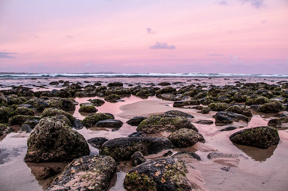 really like the restful colours this evening seascape. Warm, soft breeze at the end of the day. B...