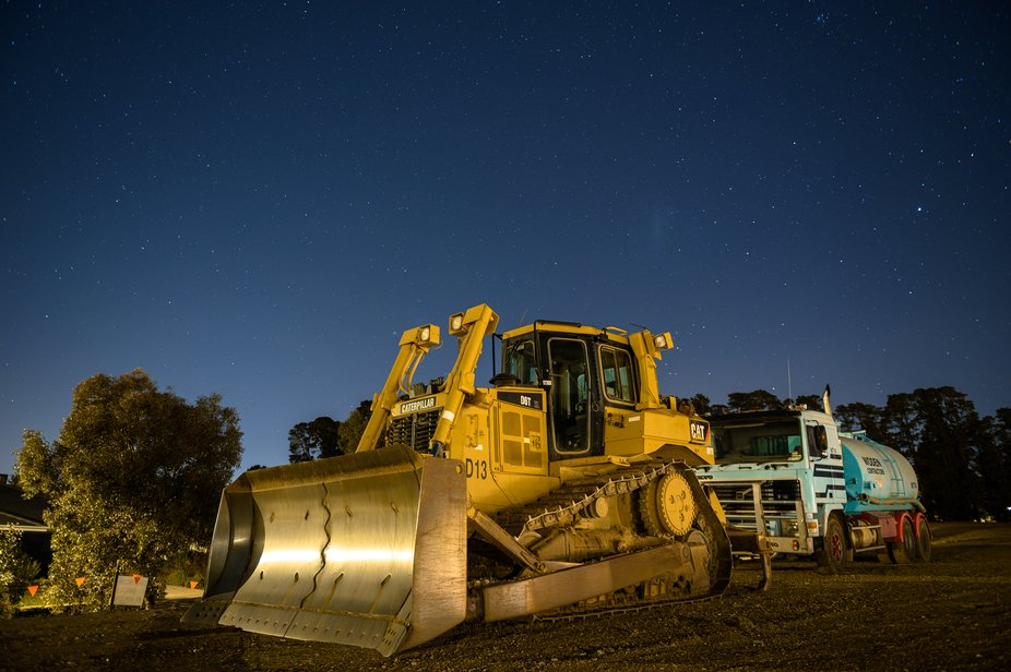 I recently purchased a Nikon Z6 with FTZ and I had seen this dozer out the front of my suburb and...