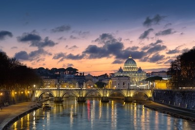 Peters Dome in Rome, Italy