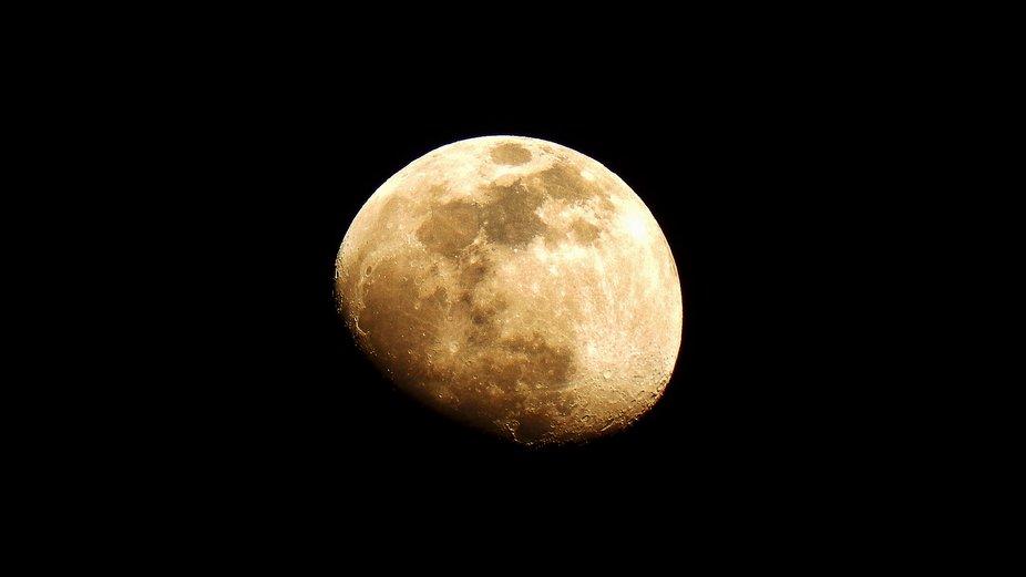 City s moon in Thesssaloniki city