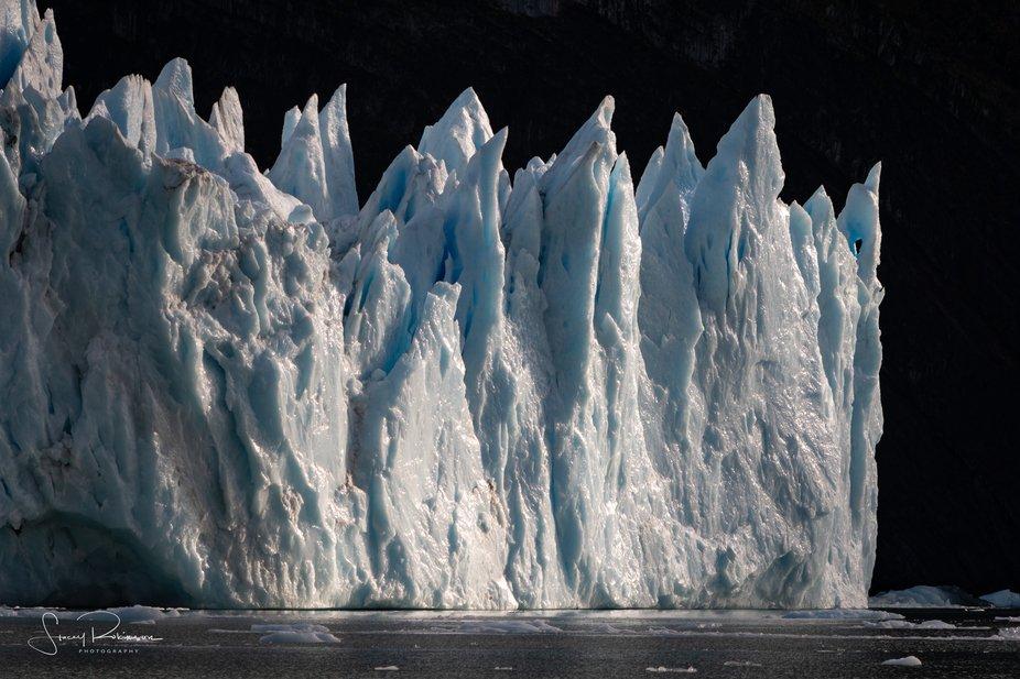 The glacier park near El Calafate, Argentina