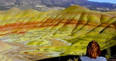 Painted Hills Park in Oregon
