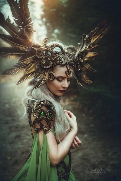 The winged princess