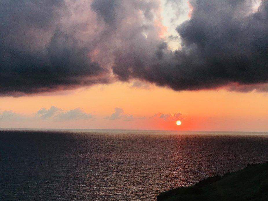 Sunset at Basco