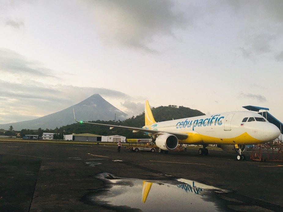 CebuPac And Mayon