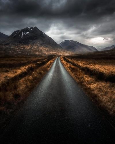 One of Glencoes best roads
