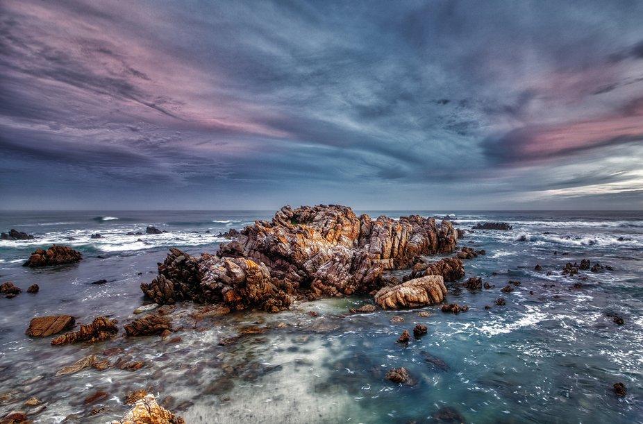 The wild ocean