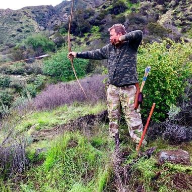 Good archery form!