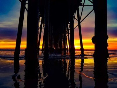Sunsets under the Pier