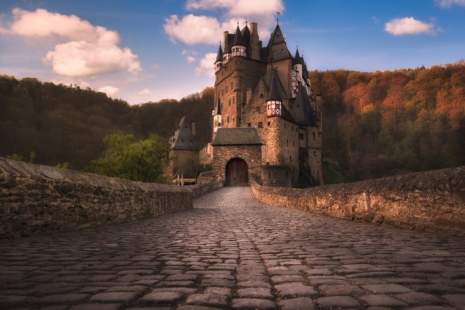 The beautiful Burg Eltz in Germany, one of the most impressive castles and locations in Europe.