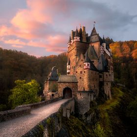 Burg Eltz in Germany, close to Cochem. A castle that was built around the 12th century and still standing with pride.