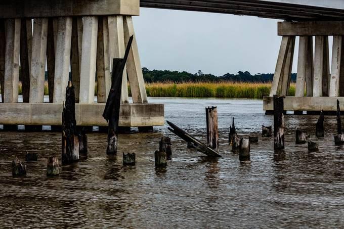Ashepoo River in Ashepoo, South Carolina